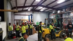 Emerald monthly safety meeting and performance summary.