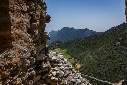 St. Hilarion castle, Kyrenia (Girne) Mountains , North Cyprus