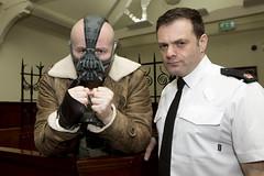 Cash for Kids - Superhero Day 2017 (Greater Manchester Police) Tags: cashforkids superheroday arrested cuffed handcuffed custody bane superhero