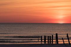 sunset (Bea Antoni) Tags: red rot dänemark denmark northsea nordsee see sea colour sonne sun sonnenuntergang sunset