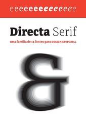 Directa Serif (Érico Lebedenco) Tags: adg brasil 11ª bienal design gráfico graphic type tipografia typography font alfabeto alphabet br brasileira brazilian family família serif directa text texto outrasfontes 2015