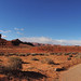 Mexican Hat - Dirt Road Panorama