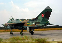 """1:72 Yakovlev Yak-138 (NATO ASCC Code 'Flitchbeam'); """"17 Red"""" of the Soviet Air Force Frontal Aviation's 24th Air Army, 138th Fighter Aviation Division; Mirgorod AB (Ukraine), 1989 (Whif/Kitbashing) (dizzyfugu) Tags: yakowlew yakovlev yak forger flitchbeam vtol stol ctol attack aircraft soviet frontal aviation tactical camouflage harrier jaguar sepecat hawker siddeley modellbau kitbashing conversion fictional red star dizzyfugu 172 as8 kerry"""