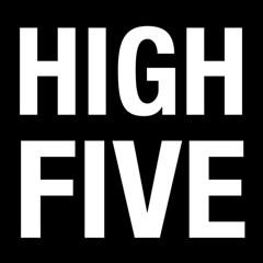 HIGH FIVE (C. Neil Scott) Tags: highfive dap helvetica font celebration