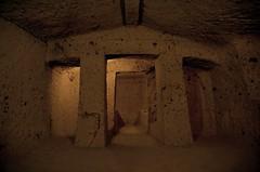 a Cerveteri (robra shotography []O]) Tags: italy archaeology preroman etruscan centralitaly cerveteri necropoli banditaccia necropolis tomb