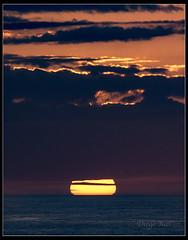 Last minute in Cabo Peñas. (Diego Rai) Tags: sun sunset cabo peñas asturias mar sea nubes clouds sol diego rai