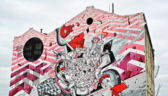 Lisboa 2017 - Arte Urbana de Raoul e Davide Perre na Avenida da India (Markus Lüske) Tags: portugal lisbon lisboa lissabon art arte kunst streetart graffiti graffito urbanart urban mural wandmalerei street strase lueske lüske
