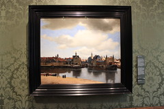 The beautiful View of Delft by Vermeer (who else). (maggie jones.) Tags: oldmaster painting holland den haag