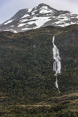 Kirke Narrows Patagonia (Tom Kilroy) Tags: nature mountain scenics landscape waterfall water outdoors rockobject iceland travel beautyinnature mountainrange river extremeterrain tourism valley chile patagonia kirke narrows