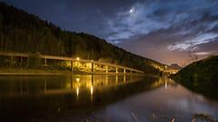 Elbe@night (clearfotografie) Tags: fujixt2 fujinionxf1855mm dark nachthimmel nacht night nightlife long exposure langzeitbelichtung sachsen sächsische schweiz badschandau