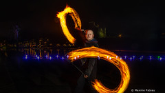 Fire de face (Photos + Fb : photographe.maximepateau) Tags: firepainting photo jonglage jongleurs feu fire fuego nantes photography photographie maxime pateau face