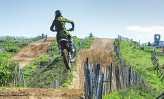 A clear run in (Rob McC) Tags: motorcross motorx motorbike sport racing jersey leaping jumping racetrack sorelpoint venue rider
