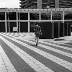 Milano (Valt3r Rav3ra - DEVOted!) Tags: rolleiflex bw biancoenero blackandwhite ilforddelta400 valt3r valterravera visioniurbane urbanvisions streetphotography street milano bicocca università university medioformato mediumformat 120 6x6 analogico analogica analog analogue film pellicola