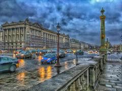Paris  France  ~ Hôtel de Crillon ~ Closed for Renovation ~ Historic