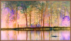 Spring fantasy (edenseekr) Tags: fantasy spring forest photopainting watercolor