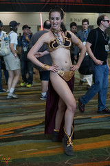 Star Wars Celebration Orlando 2017 Cosplay (V Threepio) Tags: cosplay starwarscelebration2017 vthreepiophotography costume outfit sonya6000 sonyalpha 35mmlens unedited unretouched vthreepio starwars orlando female girl slaveleia