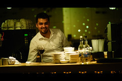 for a laugh (bmakaraci) Tags: sony a7ii burakmakaraci 135mm f28 tokina color street istanbul person man cinematic photograpy primelens photographer prime drink indoor grain new night turkish life candid