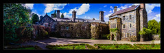 Gwydir Castle (Kev Walker ¦ From Manchester) Tags: architecture beautiful betwsycoed britishculture building canon1100d canon1855mm colorfull hdr historical northwales panorama panoramic photoborder postprocessing