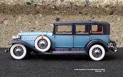 1930 Cadillac V-16 LWB Imperial Sedan (JCarnutz) Tags: 124scale diecast franklinmint 1930 cadillac v16 imperialsedan