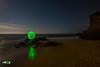 ESFERICA (Fran Ramos.) Tags: light painting naturaleza nocturnas noche luna playa cartagena calblanque frascoramos luces