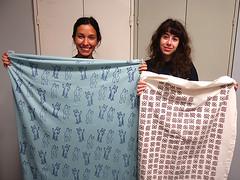 Druck Dein eigenes Muster - Print your own pattern ('smil) Tags: printing pattern allover screenprint diy textiledesign workshop repeat rapportdruck siebdruck siebdruckkurs