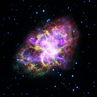 Observatories Combine to Crack Open the Crab Nebula
