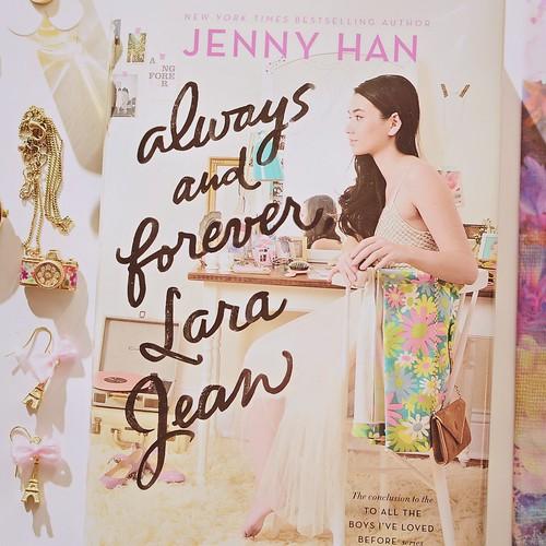 Jenny Han book fan photo