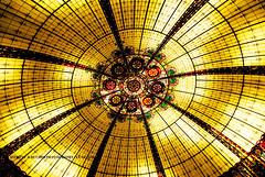 The Forum Cupola, Las Vegas. (Infinity & Beyond Photography) Tags: caesars palace forum glass cupola dome roof las vegas