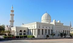 Aqaba | Jordanien | Moschee | Jordan | Mosque (flashpacker-travelguide.de) Tags: sharif hussein bin ali mosque moschee aquaba rotes meer tauchen schnorcheln diving red sea moslem muslim beten pray meuzzin ruf weis white