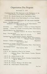 1925-09-21-Organization Day program-04 (Old Guard History) Tags: 1925 3dusinfantryregimenttheoldguard fortsnelling minnesota organizationday