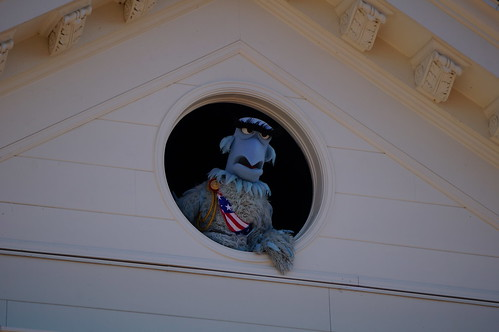 "Walt Disney World: Sam the Eagle • <a style=""font-size:0.8em;"" href=""http://www.flickr.com/photos/28558260@N04/34618601501/"" target=""_blank"">View on Flickr</a>"