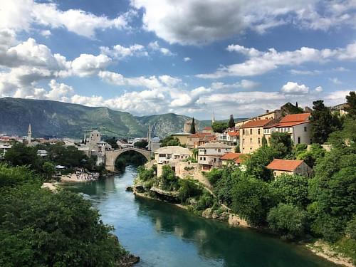 Mostar is the star of Bosnia and Herzegovina  #mostar #town #bridge #ancientcity #unesco #bosniaandherzegovina #bosniaandherzegovina #heartshapedland #herzegovina #igbih #igherzegovina #mostarbridge #europe #balkans #igeurope #ottomanempire #ottomanarchit