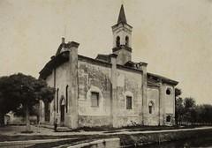 San Cristoforo prima dei restauri 1885-90 (Milàn l'era inscì) Tags: urbanfile milanl'erainscì milano milan oldpicture milanosparita vecchiefoto san cristoforo