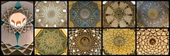 Iran 2017 - Coupoles persanes (philippebeenne) Tags: iran perse coupoles domes persan coupolespersannes circulaire plafond ceillings circle rond