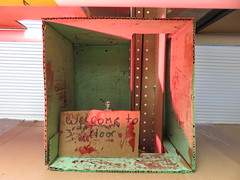 Maker Art: Creating a Haunted House at the Lycée (fabola) Tags: art arduino class education edwardjanne fabriceflorin ghost hauntedhouse lowerschool lycee learning maker makerart makered makerspace marin meeting model prototype sarahbrewer school tammakers