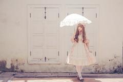 SDF_2330 (SendoFu) Tags: bonnet ボンネット エプロン風スカート blouse bl ブラウス headbow kc カチューシャ bnt 蕾絲 維多利亞 jsk op onepiecedress ワンピース jumperskirt ジャンパースカート nop lolita lolitafashion 蘿莉塔 蘿莉塔時裝 ロリータ・ファッション sweetlolita classicallolita