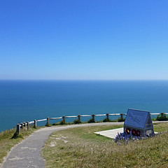 We Shall Never Surrender (pom.angers) Tags: panasonicdmctz30 june 2015 beachyhead eastsussex eastbourne england unitedkingdom europeanunion winstonchurchill worldwar2 1940 battleofengland tribute weshallneversurrender raf royalairforce 100 150