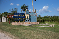 Cuba - José Martí (In.Deo) Tags: cuba artemisa cabañas street countryside rural josémartí politicalphrase augusto césar sandino sugar mill
