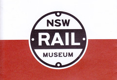 NSW Rail Museum - New Corporate Logotype. (john cowper) Tags: nswrailmuseum thirlmere launchfunction rebrand logotype selection nswrailways newsouthwales australia