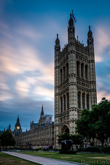 Dawn over Parliament (Daniel Coyle) Tags: dawnoverparliament parliament housesofparliament sunriseoverparliament sunrise dawn danielcoyle nikon nikond7100 d7100 london londonsunrise citysunrise longexposure centrallondon bigben elizabethtower victoriatower clouds clock clocktower westminster palaceofwestminster