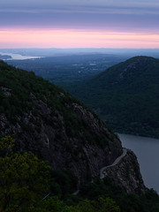 NORTH POINT PASTELS (pidalaphoto) Tags: hudsonrivervalley hudsonhighlands sunrise spring approachingstorm clouds crowsnestmountain mountains newyork northpoint hudsonriver townofhighlands stormkingstatepark hudsonvalley