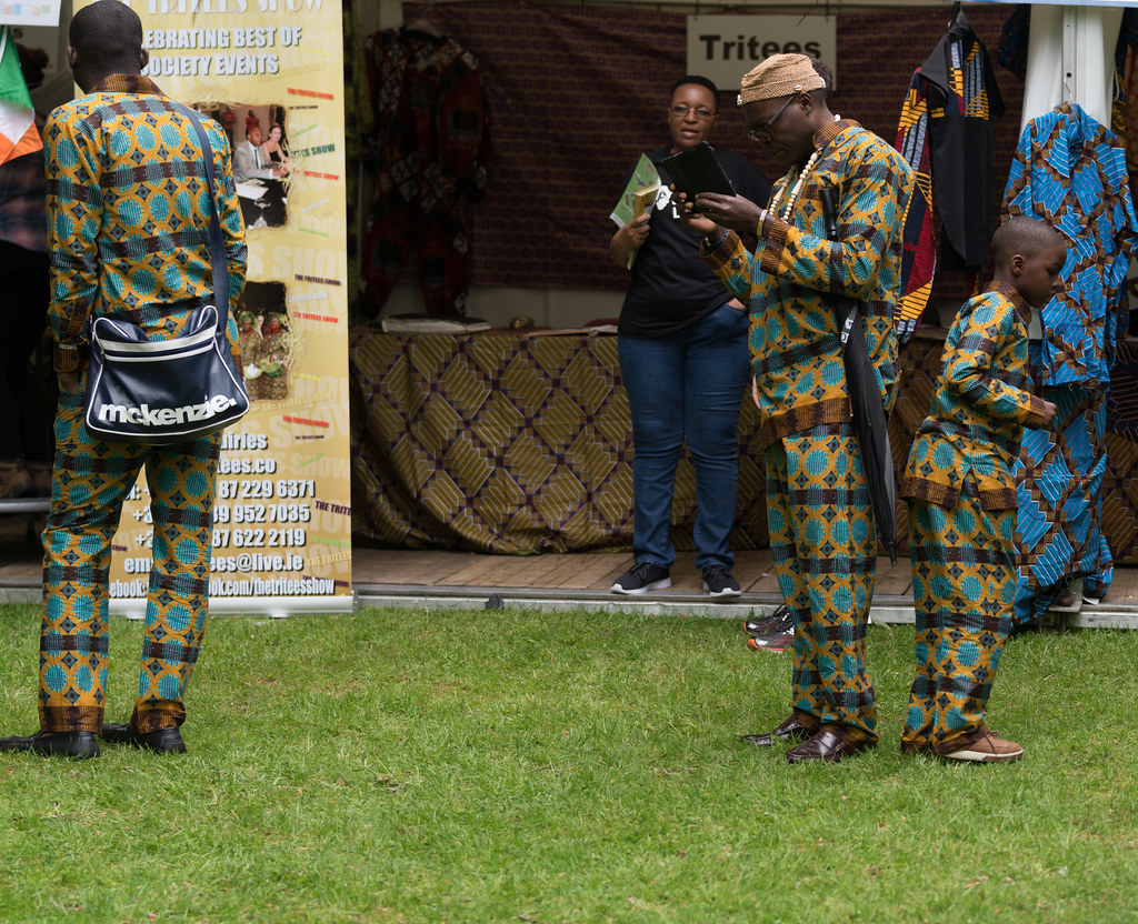 TRYING TO BLEND IN [AFRICA DAY 2017 IN DUBLIN]-128875
