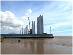 New Riverside Scene .. (** Janets Photos **Feeling a bit Better) Tags: uk hull riverhumber industry windturbines