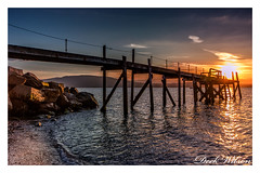 I'm glad this is close by (Deek Wilson) Tags: holywood kinnegar jetty belfastlough northernireland seascape landscape woodenjetty sunsett lough tide rocks canon7dmkii sigma1020