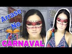 MAKE ÍNDIA PARA O CARNAVAL SIMPLES E FÁCIL DE FAZER! (portalminas) Tags: make índia para o carnaval simples e fácil de fazer