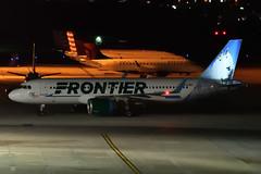 """Frontier Airlines """"Cliff the Mountain Goat"""" // Airbus A320-251N(WL) // N305FR (cn 7387) // KCMH 4/23/17 (Micheal Wass) Tags: cmh kcmh johnglenncolumbusinternationalairport johnglenninternationalairport johnglennairport f9 fft frontierairlines frontier airbus a320neo airbusa320neo airbusa320 a320 a320251n airbusa320251n a320251nwl airbusa320251nwl n305fr aerotagged aero:airline=fft aero:man=airbus aero:model=a320 aero:series=200 aero:special=n aero:tail=n305fr aero:airport=kcmh"""