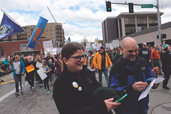 lisa parshley marches on earth day (FADICH PHOTOGRAPHY) Tags: science march themarchforscience 2017 april earthday earth day lisaparshley activism protest olympia washington environmentalism gogreen clean energy vote womenofscience climatechange climate change global warming poverty war drought resourcescarcity