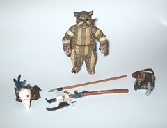 VC55 logray ewok medicine man star wars the vintage collection star wars return of the jedi basic action figures hasbro 2011 3b (tjparkside) Tags: vc55 logray ewok medicine man star wars vintage collection return jedi basic action figures hasbro 2011 endor ewoks episode 6 six vi rotj battle pouch headgear staff spear weapon weapons