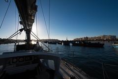 Leaving Rabat - Nous quittons Rabat - Rabat, Maroc (Laurent Saleh) Tags: liane lianeproject lieux maroc morocco navires projet rabat voiliers
