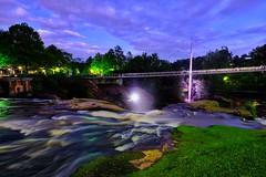 Reedy River Park (David Guidas) Tags: water slowexposure xf14 fujifilm reedyriver southcarolina greenville waterfalls